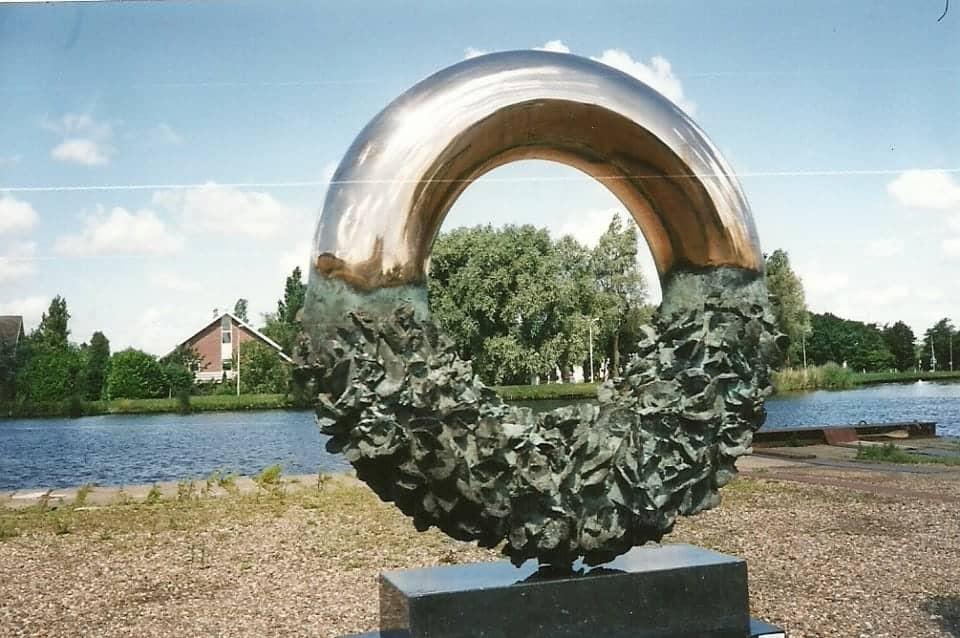 circle of life, brons