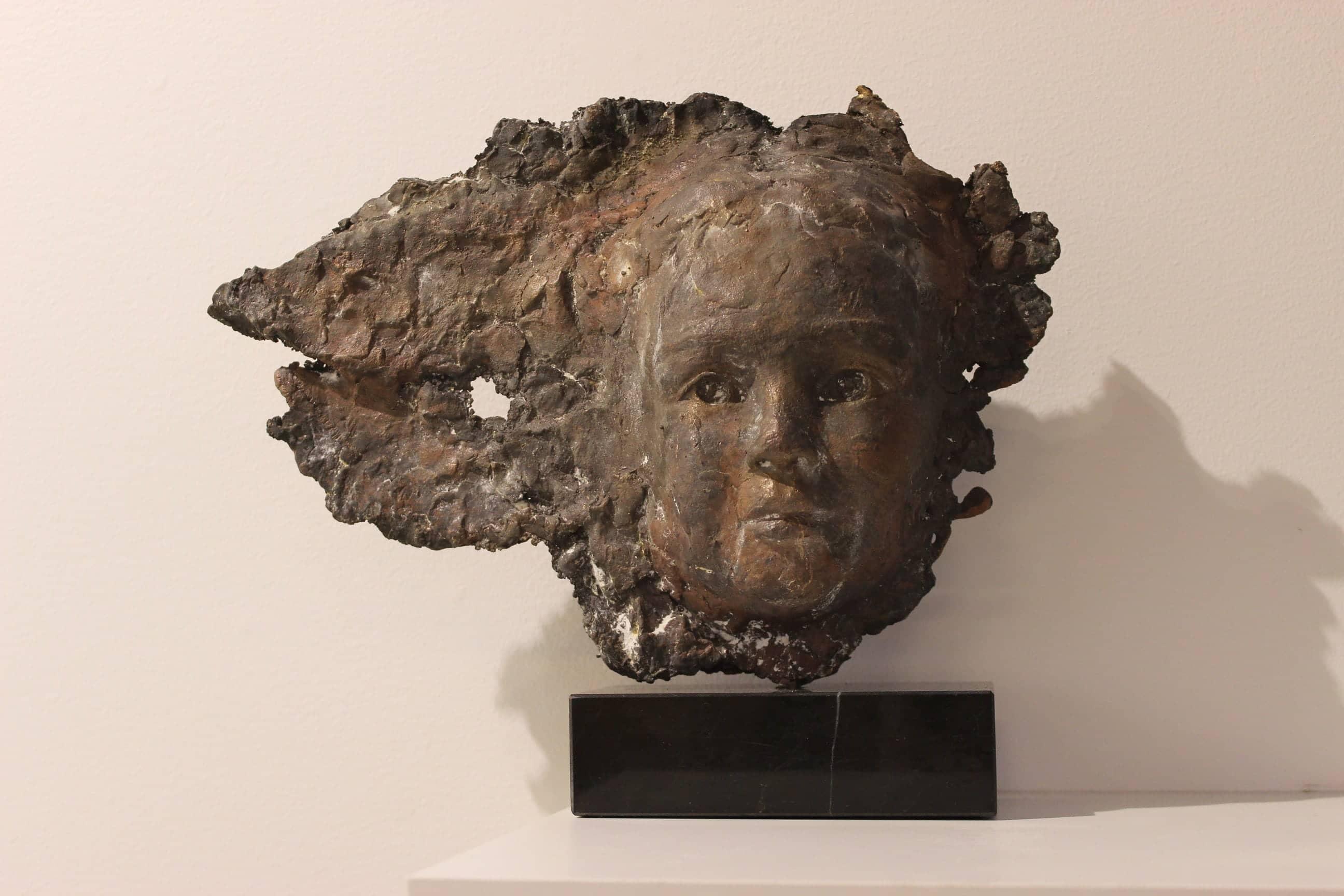 Scherf Angel, brons